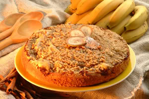 Cucadebanana Receita: Cuca de Banana