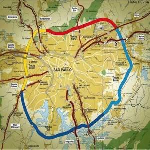 RodoanelTrechoSulMapaInauguraoAcess Rodoanel Trecho Sul: Mapa, Inauguração, Acessos