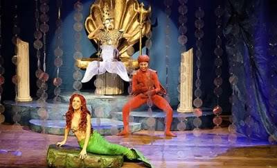 TeatroAPequenaSereiaemcartaz 1 Teatro: A Pequena Sereia em cartaz