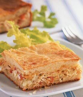 Torta de frango2 Receita: Torta de Frango