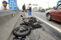 acidente transito Se beber não dirija !