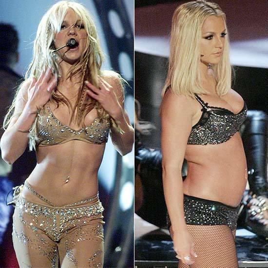 britney spears vma 2007 Fotos da Britney Spears em Forma Novamente