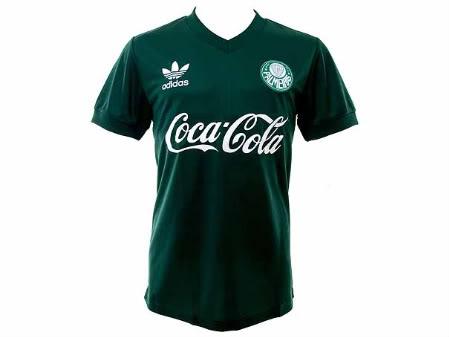 camisa palmeiras versao retro Camisa do Palmeiras Versão Retrô   Edição limitada