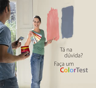 casal colortest Tintas Suvinil Colortest