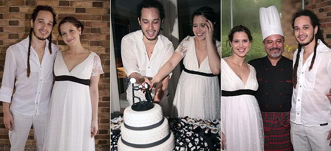 casamento mel lisboa Fotos do Casamento de Mel Lisboa e Felipe Roseno