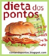 dieta dos pontos Dieta dos Pontos   Coma o que quiser e perca 4 quilos em um mês