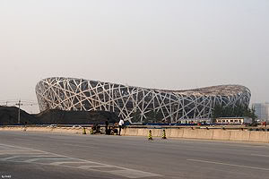 estadionacionaldepequim Cerimônia de Abertura das Olimpíadas de Pequim 2008
