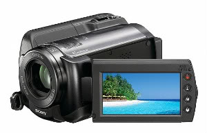 fimadorassony 1 Lançamento : Sony Exibe Novas Filmadoras