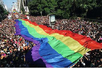 fotos parada gay Fotos e Vídeos: Parada Gay 2008 em São Paulo