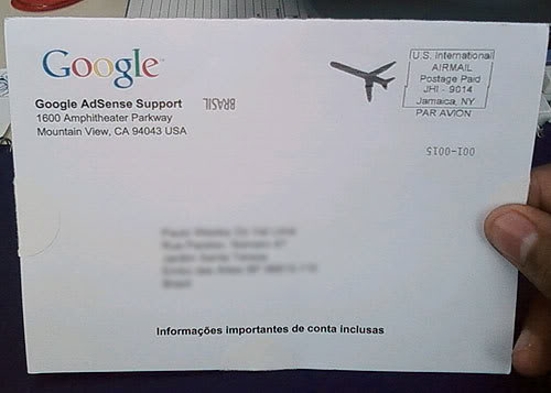 google 1 O Google ainda me paga !