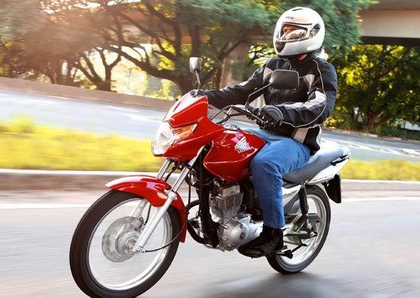 honda Nova Titan CG 150 Mix   Moto Flex   Bicombustível