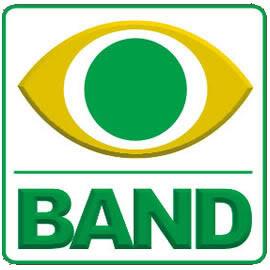 logo band Programação Band   TV Bandeirantes