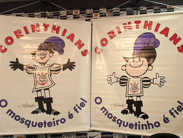 novo mascote corinthians Novo Mascote Corinthians   Mosqueteiro e Mosquetinho