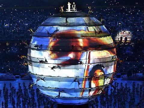 olimpiadas4 Fotos da Abertura Oficial dos Jogos Olímpicos de Pequim