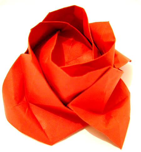 origami rose Origami: Aprenda a fazer dobradura de papel