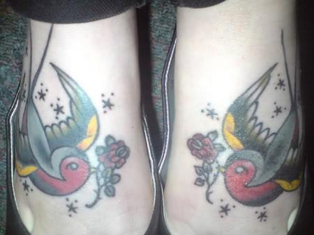 pes3 Tatuagem nos pés: Fotos