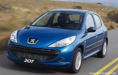 peugeot 207 brasil 1 Novo Peugeot 207   Fotos e Preços