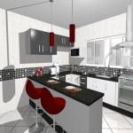 projeto de cozinha americana4 150x150 Projeto de Cozinha Americana