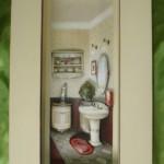 quadro decorativo banheiro 150x150 Quadros decorativos para banheiro