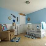 quarto de bebe azul 150x150 Dicas para decorar quarto infantil pequeno
