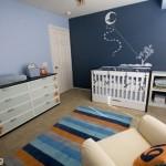 quarto de bebe azul marinho 150x150 Dicas para decorar quarto infantil pequeno