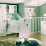 quarto de bebe decorado verde 1 150x150 Quarto de Bebê Decorado Verde