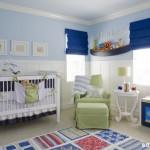 quarto de bebe masculino decorado azul1 150x150 Decoração de Quarto de Bebê Masculino, Fotos