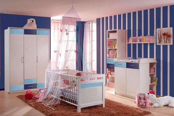 quarto de bebe masculino decorado1 150x150 Decoração de Quarto de