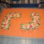 tapete de sala laranja pintado a mao 32677 150x150 Tapetes Para Sala em Promoção, Onde Comprar