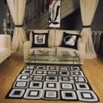 tapete sala de estar estampado 222x300 150x150 Tapetes Para Sala em Promoção, Onde Comprar