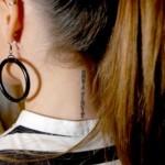 tatuagens femininas na nuca 8 150x150 Tatuagens Femininas   Galeria com as melhores fotos