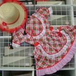 vestido festa junina infantil 150x150 Roupas infantis para festa junina   modelos e onde comprar