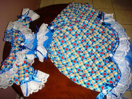 vestidofesta Vestido de festa junina   Faça seu próprio vestido caipira