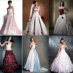 vestidos de noivas coloridos fotos 150x150 Vestidos de Noiva Coloridos   Fotos