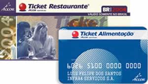 Ticket 21 Ticket Alimentação