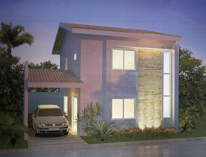Plantas de casas duplex for Casas duplex modernas