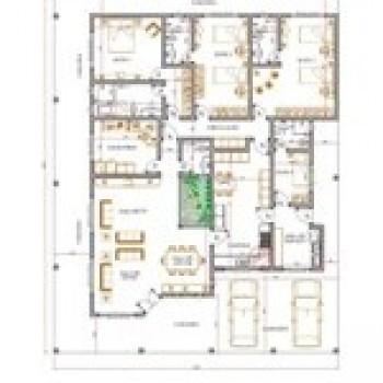 planta de casas com 4 quartos 2 Planta de Casas com 4 Quartos