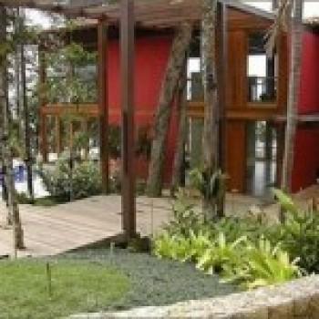 Frente de Casas Residenciais Decoradas Com Jardim Fotos Frente de Casas: Residenciais, Decoradas Com Jardim – Fotos