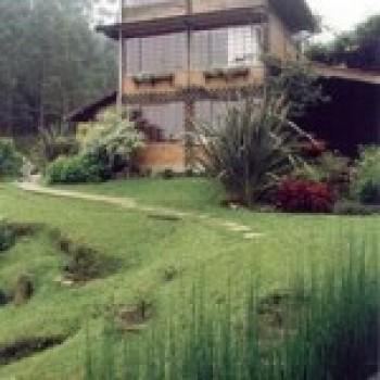 Frente de Casas Residenciais Decoradas Com Jardim Fotos5 Frente de Casas: Residenciais, Decoradas Com Jardim – Fotos