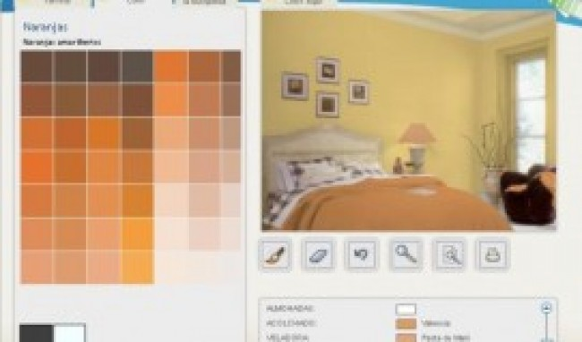 Simulador de tintas para ambiente for Simulador de decoracion