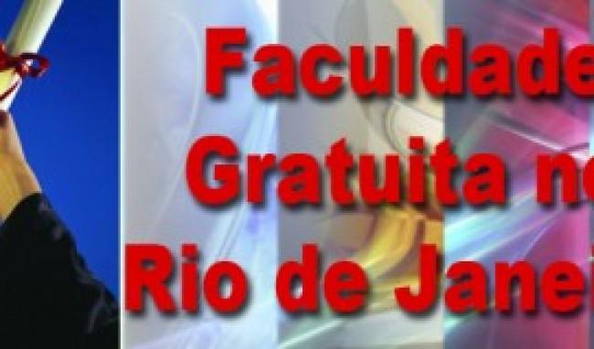 faculdade gratis rio Faculdade Gratuita no Rio de Janeiro