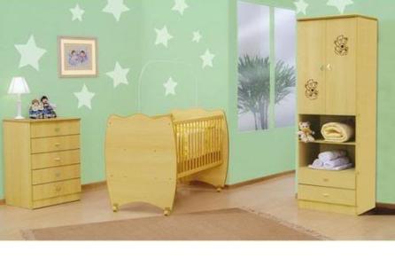 quarto de bebe decorado verde Quarto de Bebê Decorado Verde