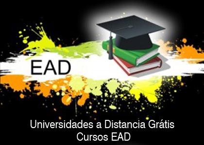 universidade gratuita a EAD Universidades a Distancia Grátis: Cursos EAD
