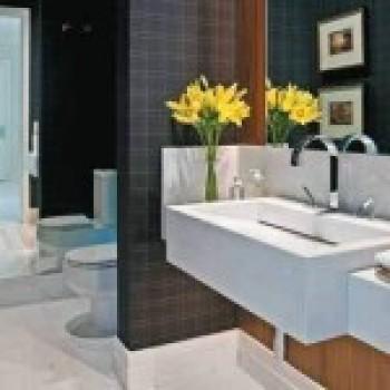 decoração de lavabos pequenos 3 Decoração de Lavabos Pequenos