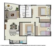 planta de apartamentos grátis pequenos com medidas 4 Planta de Apartamentos: Grátis, Pequenos, com Medidas