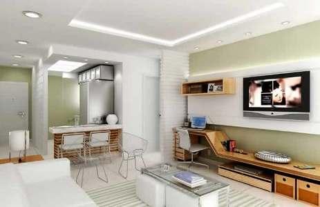 planta de apartamentos grátis pequenos com medidas Planta de Apartamentos: Grátis, Pequenos, com Medidas
