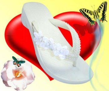 Sandalias para casamento de dia sandalias personalizadas1 Sandálias para Casamento de Dia   Sandálias Personalizadas