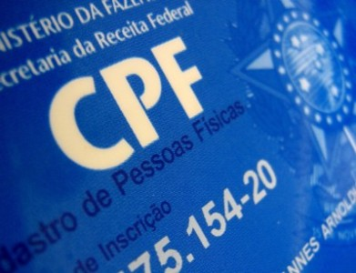 cadastro de pessoa fisica cpf Cadastro de Pessoa Física CPF