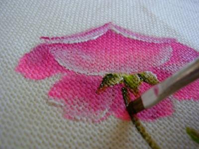 curso gratuito de pintura em tecido Curso Gratuito de Pintura em Tecido