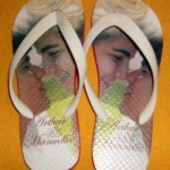 sandalia3 Sandálias para Casamento de Dia   Sandálias Personalizadas